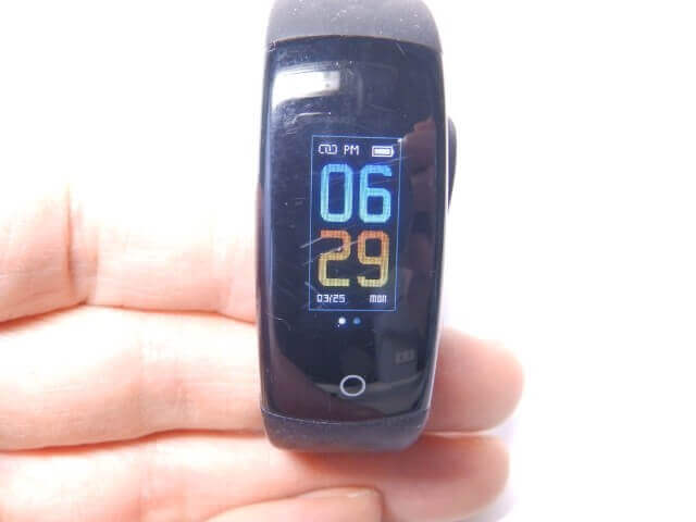 C92-5D6の時計表示